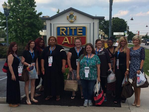 excited to spend the next few days w/ these ladies #riteaidwell #iretreat2014 http://t.co/O7m93jG9DD