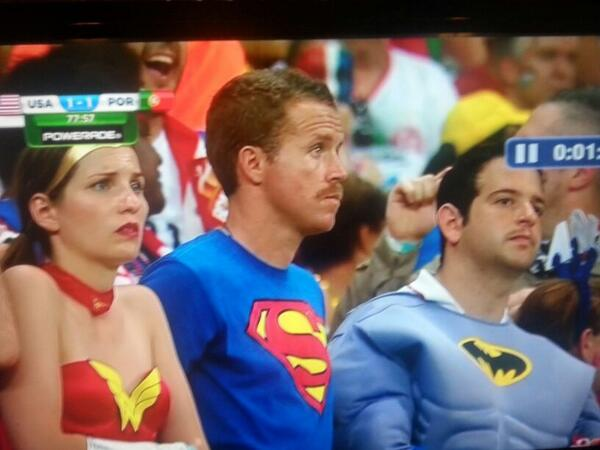 #JusticeLeague representing at the #worldcup2014 http://t.co/fRHYf2zXEe