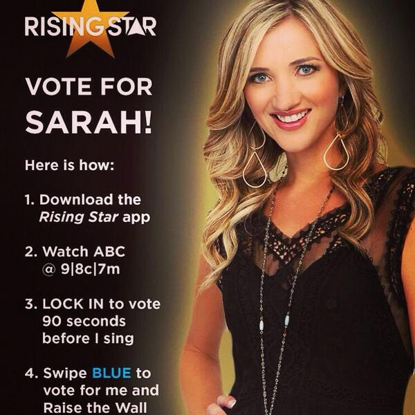 Here's last minute instructions for @risingstarabc tonight! Going live soon! Can I get a share!! http://t.co/EtUoMznVKu
