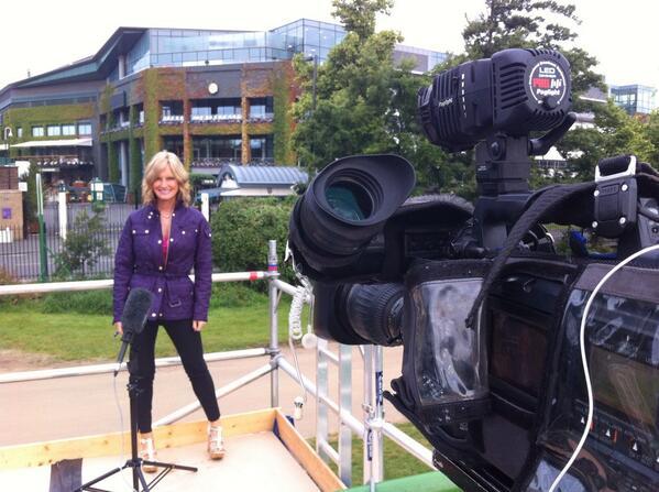 I'm back ! @Wimbledon @SkyNews #Sunrise feels good ! http://t.co/HJET5zRKXz