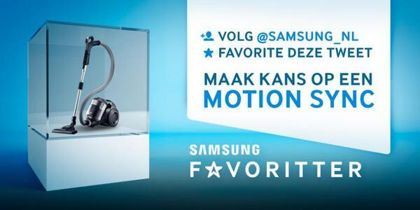 Volg ons + favorite deze tweet en maak kans op een Motion Sync stofzuiger! #favoritter http://t.co/zrkwoIUwdC