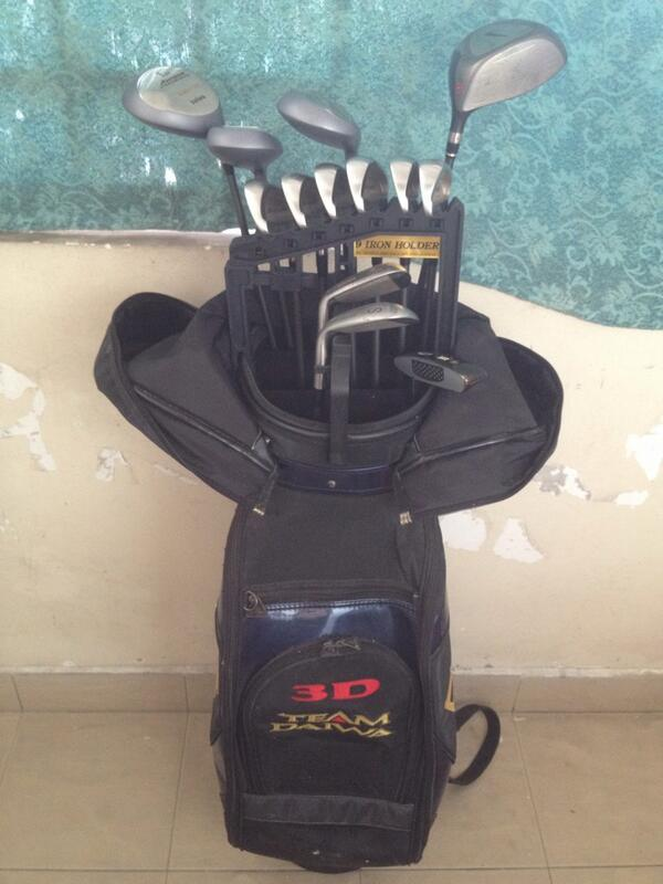 Anyone planning to start golf and wants an amature golf set and one very good driver? #fb http://t.co/c885sDFk6d