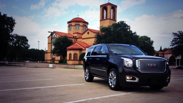 In the garage this week we're driving the @ThisIsGMC #Yukon #Denali http://t.co/MAiNnl28bC