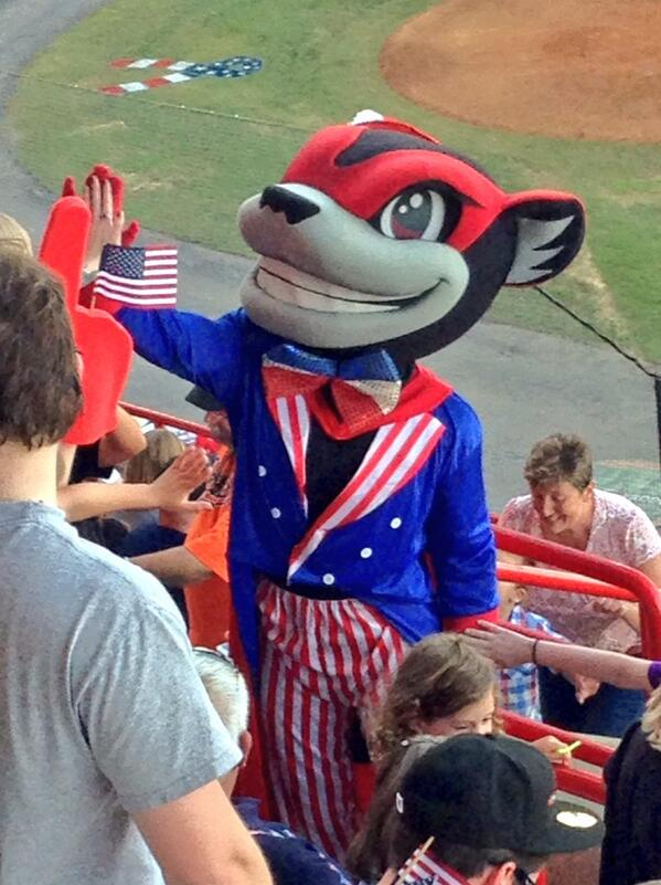 Tell me this is not the craziest mascot ever. @GoSquirrels http://t.co/Zbo4mMrPsv
