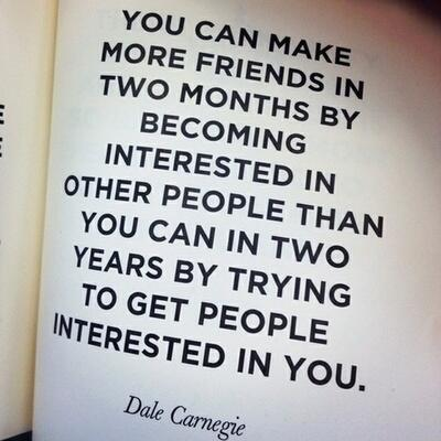 The Power of Being Interested in Others  http://t.co/mLrtzsodM1 http://t.co/Fb0bDMsGPs