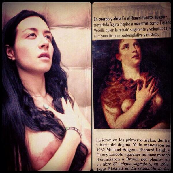 Diosa Canales (@canalesdiosa): Yo soy como María Magdalena. Una Puta Santa..... http://t.co/MeVv9s3XwE