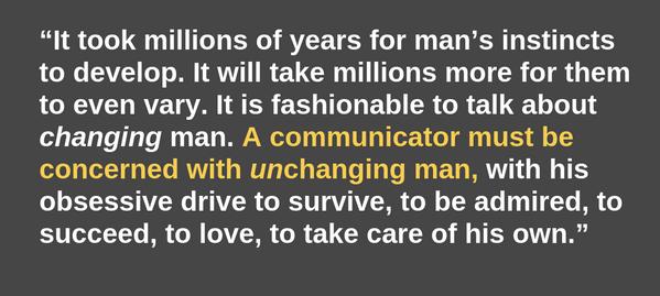 Bernbach said it all, really...... http://t.co/kPrZ2cV5IS