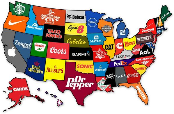 Really- #Denny's most famous Brand in SC?? #Metrics RT @amazingmap: The most famous brand from each state in the US - http://t.co/bvMo5XqYfp