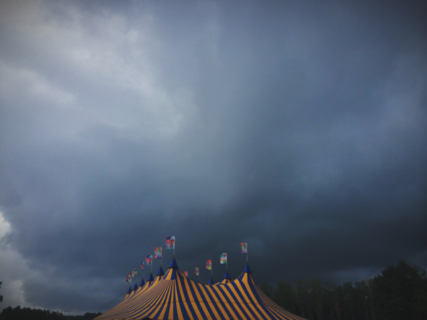 Cloudy with a chance of severe flooding #RW14 http://t.co/A9P4ynCNpn