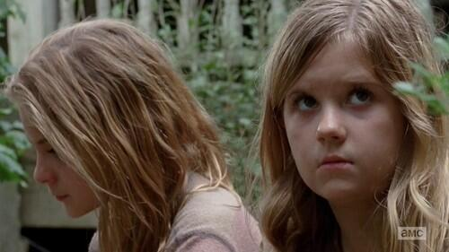 Watching Walking Dead Episode The Grove. @BriSharbino & @kenedy_kyla Gave The Best Performances Ever. #LizzieandMika. http://t.co/2QbQFPLav7