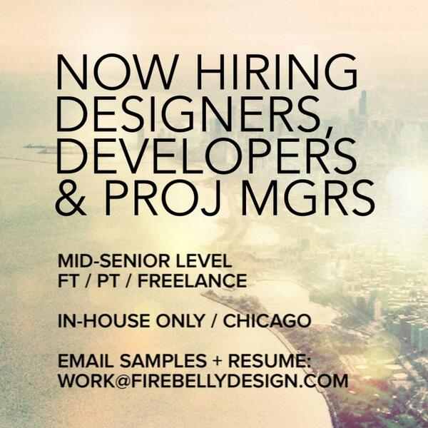 We're looking for the right folks soon! More details: http://t.co/GkWy1Y2kyM  #jobpost #designjobs #devjobs http://t.co/xRhY2qGyWi