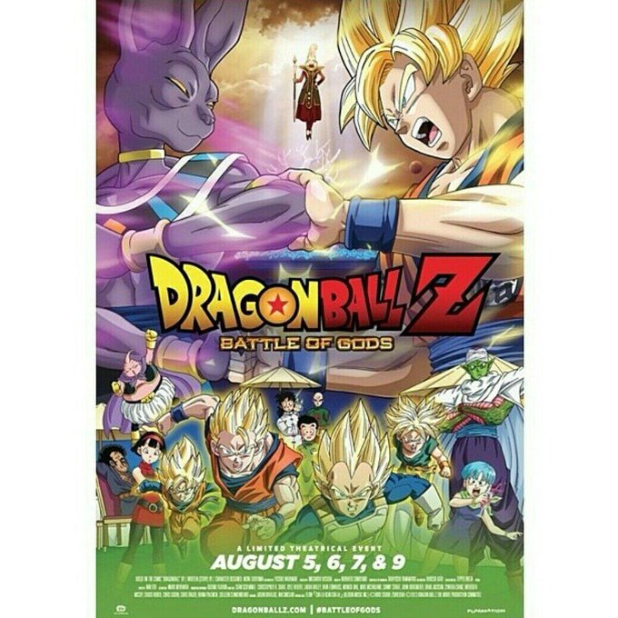 So who's gonna go see it with me?! #BattleOfGods #DragonBallZ http://t.co/D3F9CaqH8U