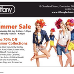 Dont Miss the Summer Sale upto 70% off Summr Collections @Tiffany_Fash #doncasterisgreat #ilovedn http://t.co/AfxozAiMVJ