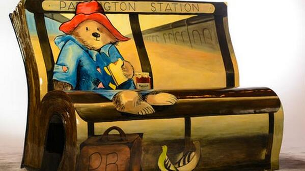 50 beautiful book benches pop up across London to celebrate reading http://t.co/oLoxDKWw4d @Literacy_Trust http://t.co/GidZhYAZv5