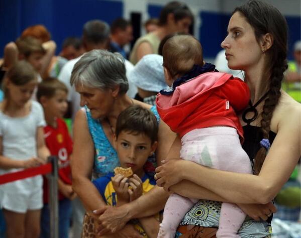 В Таганроге не хватает мест для размещения укриснких беженцев