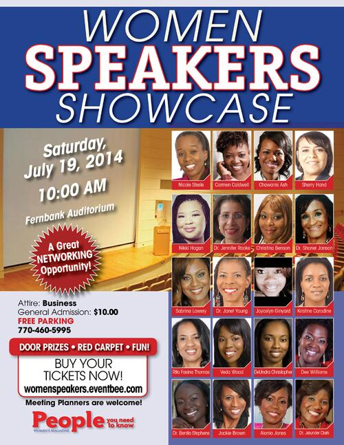 Power, Knowledge & Inspiration on July 19th @ Women Speakers Showcase in #Atlanta Tickets: http://t.co/uUYitrSbCW http://t.co/KLKsVvUDD0