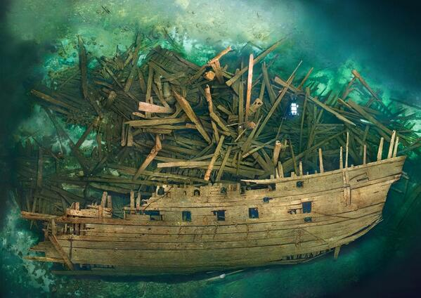 "Just beautiful > ""@BCHistoryDept Well-preserved 16thc warship found at the bottom of Baltic http://t.co/Q9hBfI9D68 … http://t.co/jYoadjfG38"""