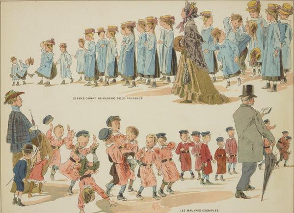 En 1905, les filles en bleu et les garçons en rose : http://t.co/u7iY2qpKWu http://t.co/jGVBq2TXpt