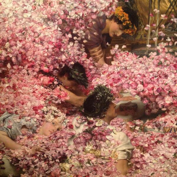 Morir ahogado en flores. #Concepto   #PinturaVictoriana http://t.co/9pZr7RK4eu