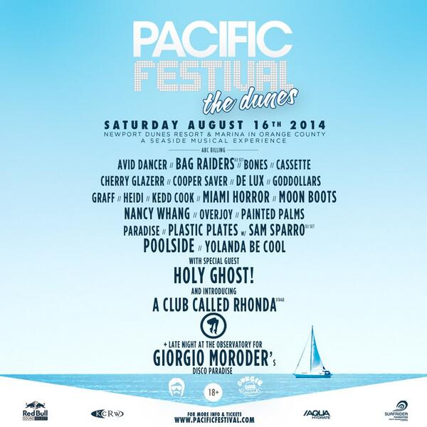 Lineup Is Announced! Grab your pre-sale tickets now at http://t.co/yL4q7oCPvc #PacificFestival http://t.co/3RXm9aqweX