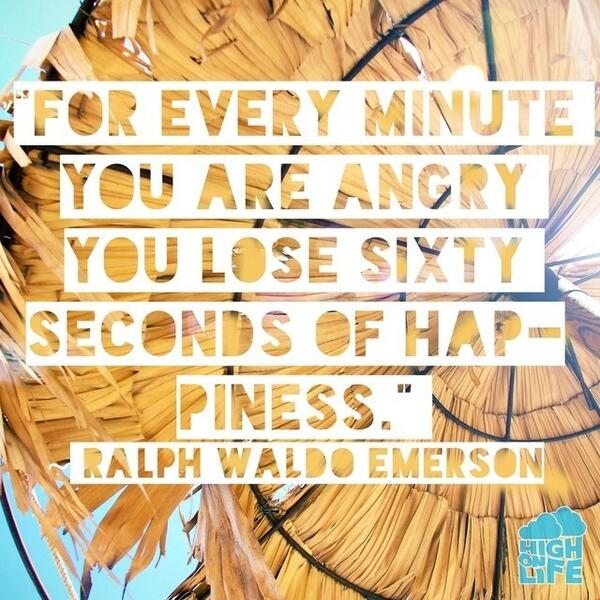 Every minute you are angry, you lose 60 seconds of happiness. #quote #quoteoftheday http://t.co/ZZVqhRU7fA RT @sundayfundayz