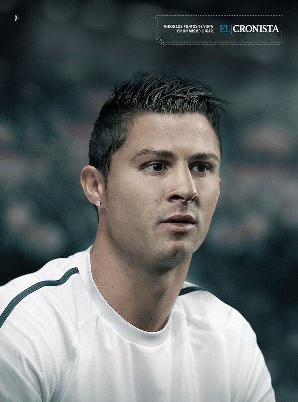 Esta es la campaña que hicimos para @Cronistacom versión #Mundial2014 #Messi #Ronaldo (1/3) http://t.co/s28NJ0CXQW