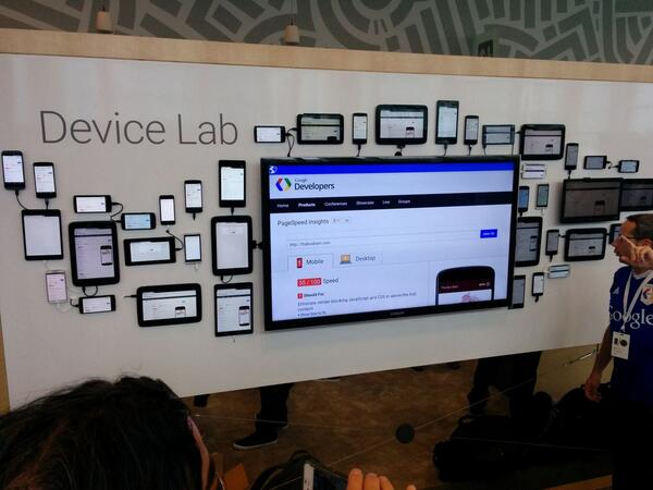 Finally you can test your Android app! #io14 #openecosystem http://t.co/vWMTZt5D9B