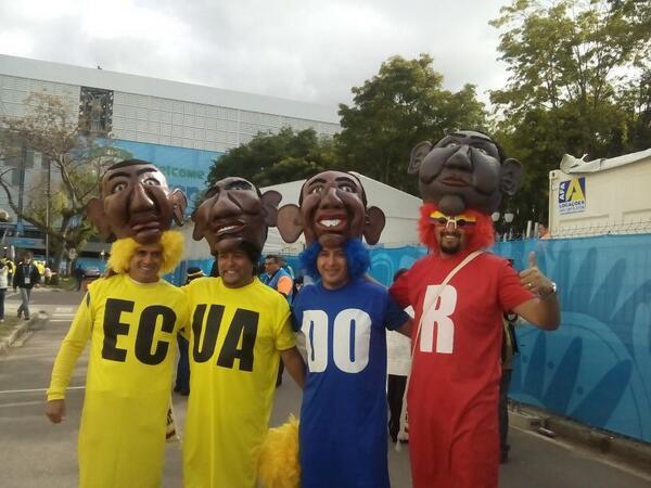 Con el auspicio de #Mastercard: El #FanáticoDelDía #Mundial2014 #ECU http://t.co/4PNxoX7Fof