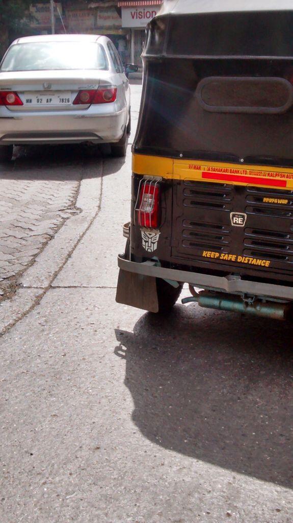 Autobots in Mumbai! http://t.co/XRofoSrPr8