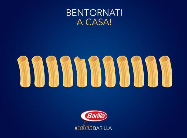 Tanto di cappello a #calcioBarilla : puri, semplici, cristallini GENI http://t.co/dAb8klA3wr