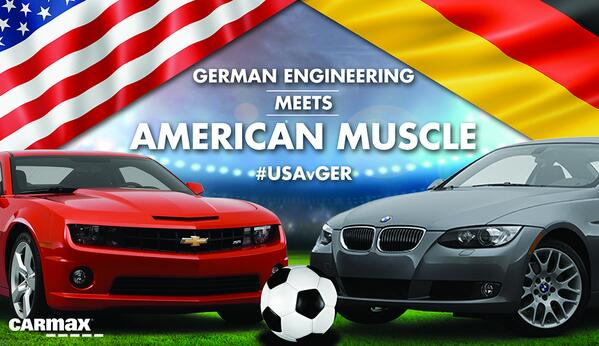 Game time! #LetsDoThis #USMNT #USAvGER #CarMaxFun http://t.co/FtotuX7JOA