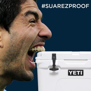 BREAKING: YETI Coolers are officially #SuarezProof http://t.co/QYaRMxXuCw
