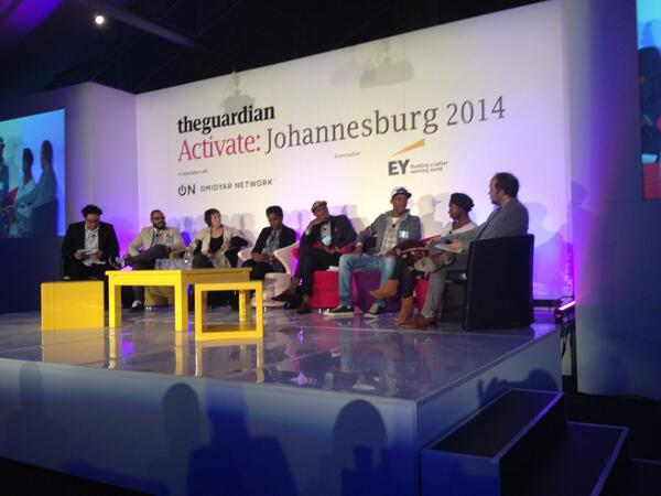 Great debate between the 'born free's' and the over 30's on future of media and web in South Africa #GdnActivate http://t.co/lGCDmh7ctY