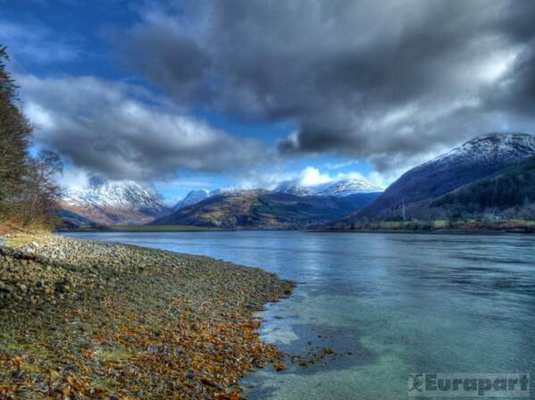 Loch Leven in the Scottish Highlands. #Scotland http://t.co/e1OasOyPg0