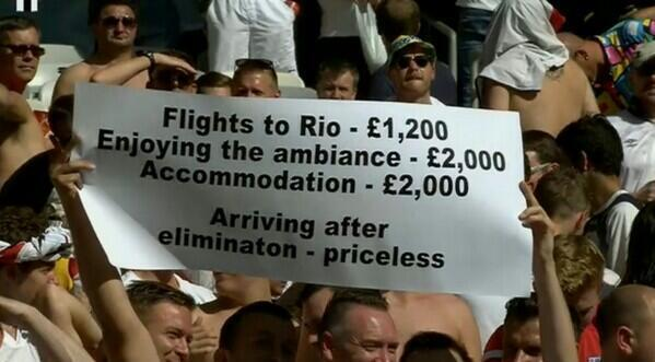 England fans at the World Cup! http://t.co/iAkideRsiD