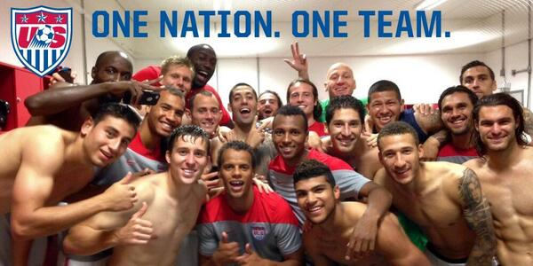 And we make it out of the Group of Death!! I love this team! We always BELIEVE!! http://t.co/5UoWbnmogF #USA #1N1T http://t.co/jb5pXPogNd