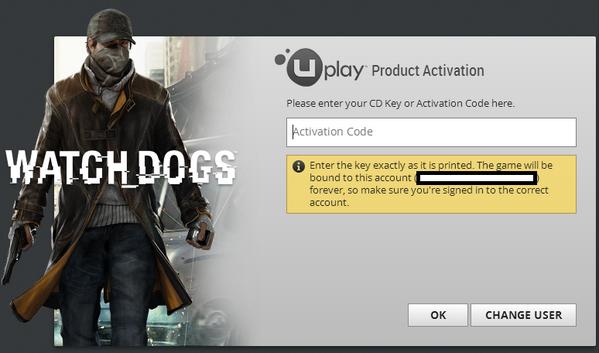 Steam の Watch Dogs では初回起動時に必要な CD キーが記載されているはずのメールがソフト購入者届かないという不祥事が発生しておりゲーム開始前からハッキング能力を試される神ゲー http://t.co/MoUia1xXKg