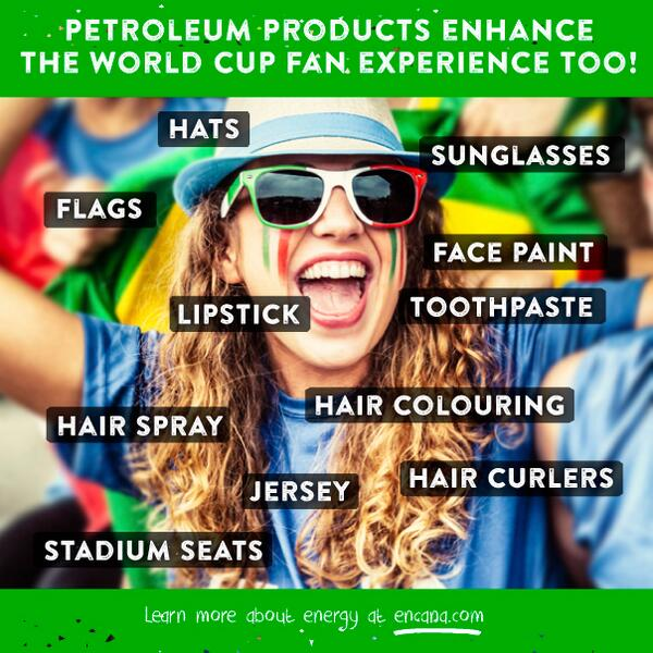 #Energy 101 for fans at the #WorldCup  #Futbol #Soccer #Oil #Gas http://t.co/FCZtAbbRpx