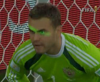 BrGIL SCUAAx6n1 Fabio Capello blames laser shone by Algeria fans in Akinfeevs eyes on Russias World Cup exit [Pictures]