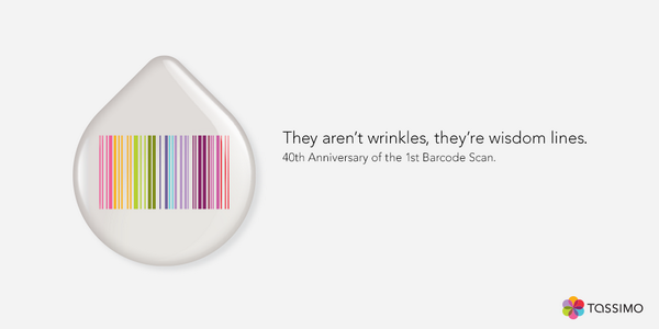 The Barcode was first scanned 40 years ago today. Another year older, another year making your perfect cup of coffee. http://t.co/blUfyoc683