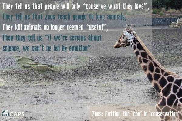 Do zoos want us to care about animals or not?! http://t.co/uGJGMOuQAf