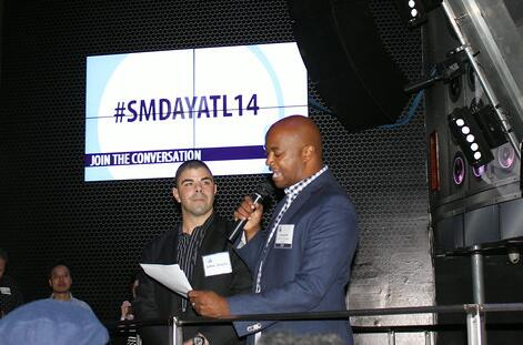 It's not official until @kwanzahall is in the building! Thanks from the entire #SMDayATL14 Team! http://t.co/GC8v4JIgtz
