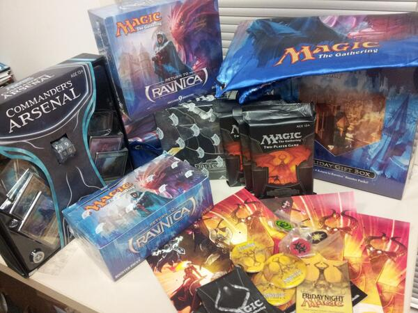 It's a MAGICal #FreeStuffFriday! @wizards_magic card packs, buttons, and even a coloring book! Follow us & RT to win! http://t.co/MVn19TojKB