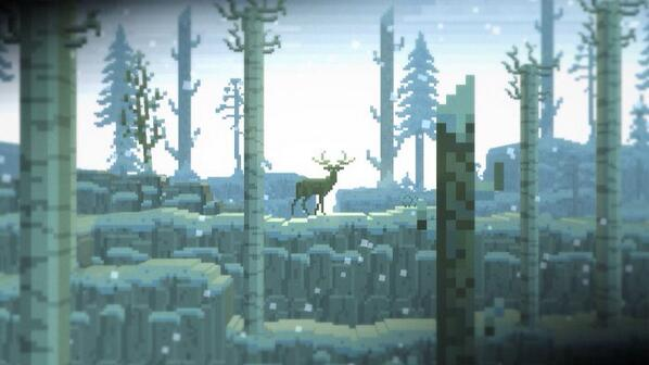 #screenshotsaturday The Deer God #pixelart #gamedev help us on Kickstarter! https://t.co/TUROykn02G http://t.co/WBzModEBFO