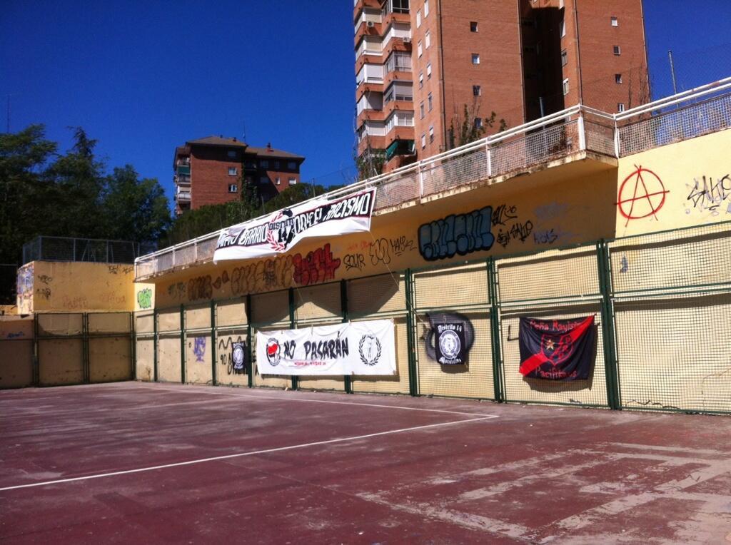 En marcha el Mundialito Antiracista de Moratalaz, gracias a @DISTRITO__14 http://t.co/Yl8ILMmyAA