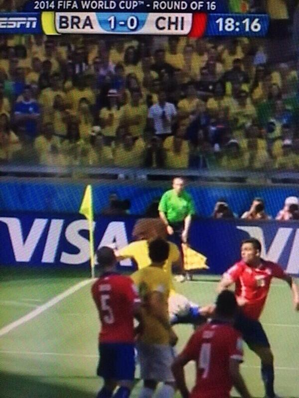 Clearly an own goal! #CHI http://t.co/izzf1hP6Mi