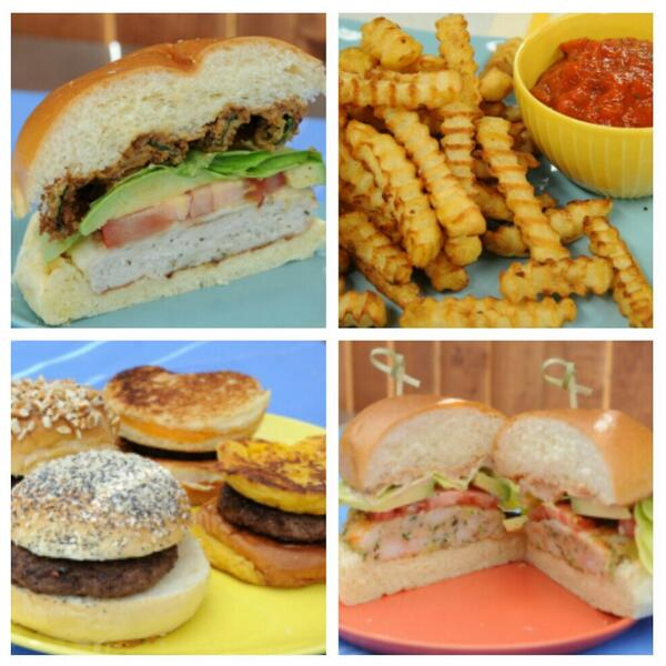 15 minutes to a MEGA Burger Bonanza. #theKitchen @FoodNetwork http://t.co/JKpzA0j7VS