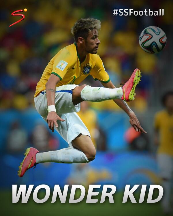RT @SuperSportTV: #WorldCup - Despite his age, Neymar has carried the