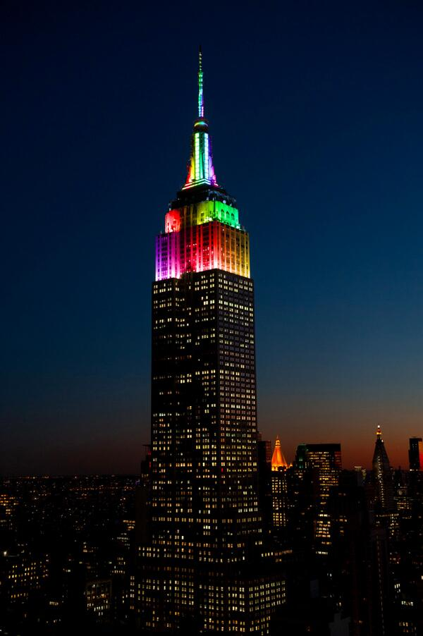 Thank you @EmpireStateBldg for showing your #Pride and supporting us! Watch the rainbow-lit building this weekend. http://t.co/sBH2rqJsBb