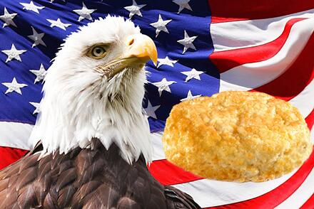 Biscuits come from amber waves of grain. Waffles come from Belgium. #BeatBelgiumWithBiscuits. #USA http://t.co/sjtGagSWom